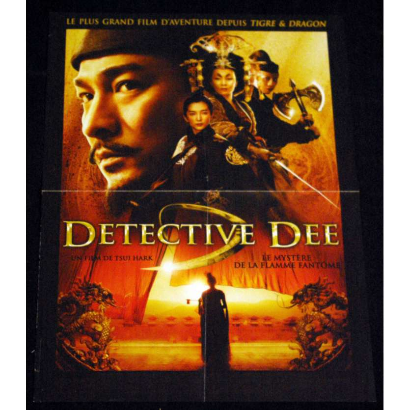 DETECTIVE DEE French Movie Poster 15x21 '10 Tsui Hark, Di Renjie zhi tongtian diguo