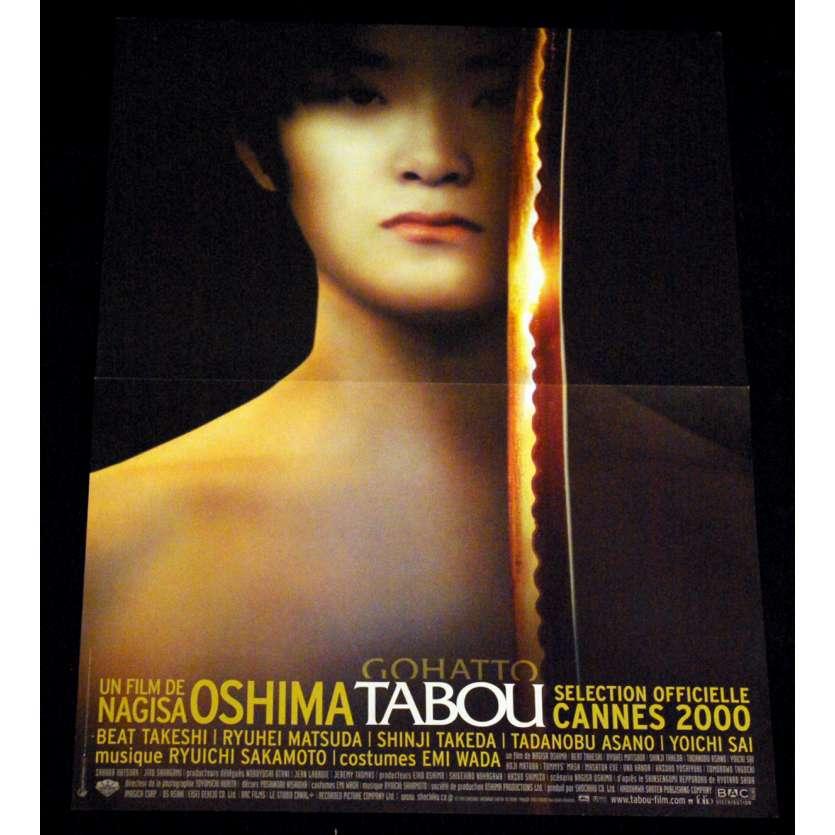 TABOU Affiche 40x60 FR '99 FR Nagisa Ôshima, Gohatto