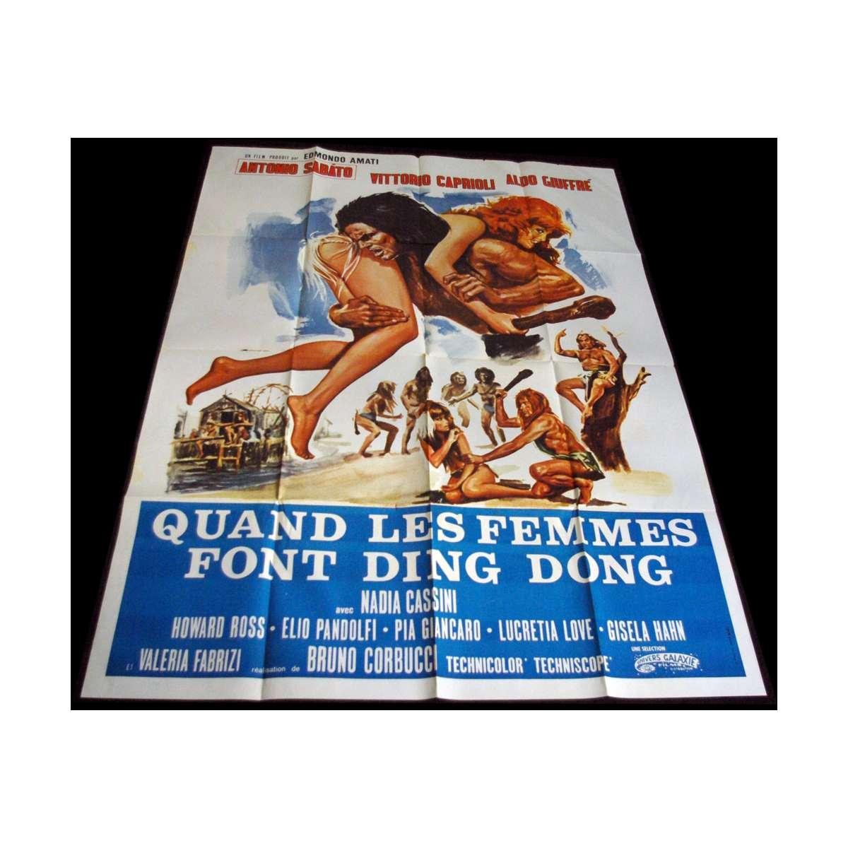 Affiche originale de film vintage