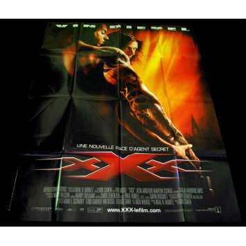 XXX French Movie Poster 47x63 '02 Vin Diesel, Asia Argento