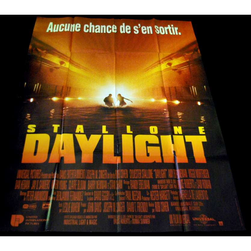 DAYLIGHT French Movie Poster 47x63 '96 Sylvester Stallone
