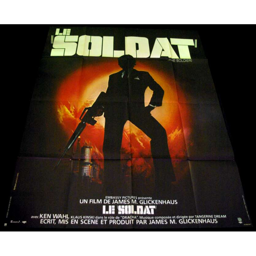 SOLDIER French Movie Poster 47x63 '82 James Glickenhaus