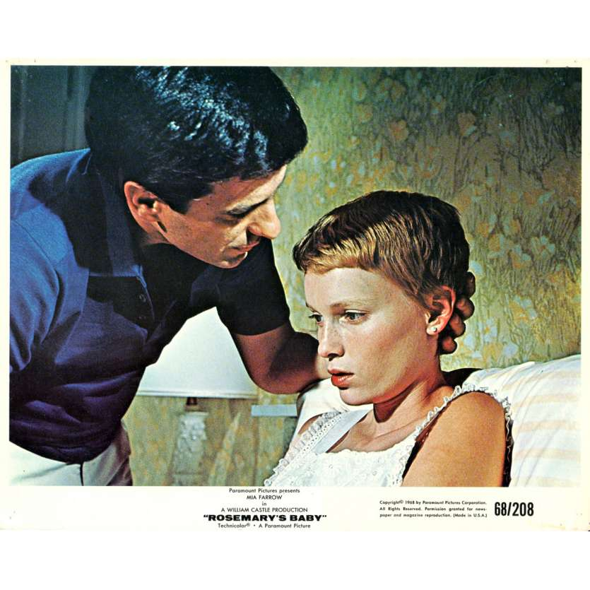ROSEMARY'S BABY 8x10 lobby card N02 '68 directed by Roman Polanski, Mia Farrow