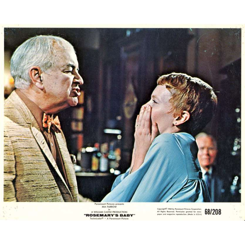ROSEMARY'S BABY Photo exploitation 20x25 N03 US '68 Roman Polanski Mia Farrow Lobby Cards