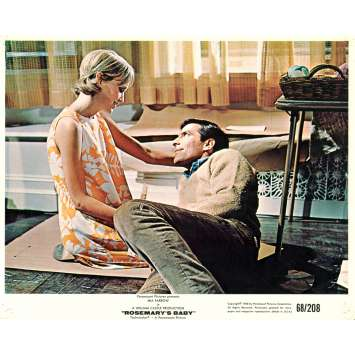 ROSEMARY'S BABY 8x10 lobby card N06 '68 directed by Roman Polanski, Mia Farrow