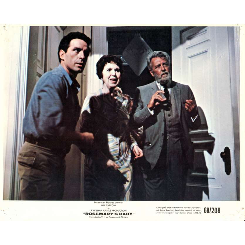ROSEMARY'S BABY 8x10 lobby card N10 '68 directed by Roman Polanski, Mia Farrow