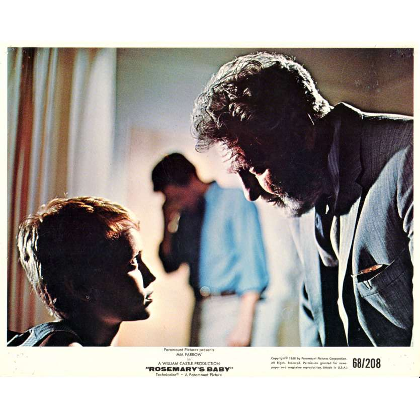 ROSEMARY'S BABY Photo exploitation 20x25 N07 US '68 Roman Polanski Mia Farrow Lobby Cards