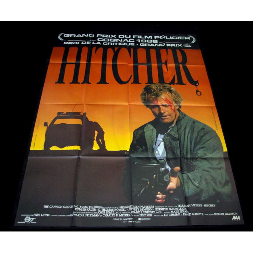 HITCHER Movie Poster - Original French One Panel