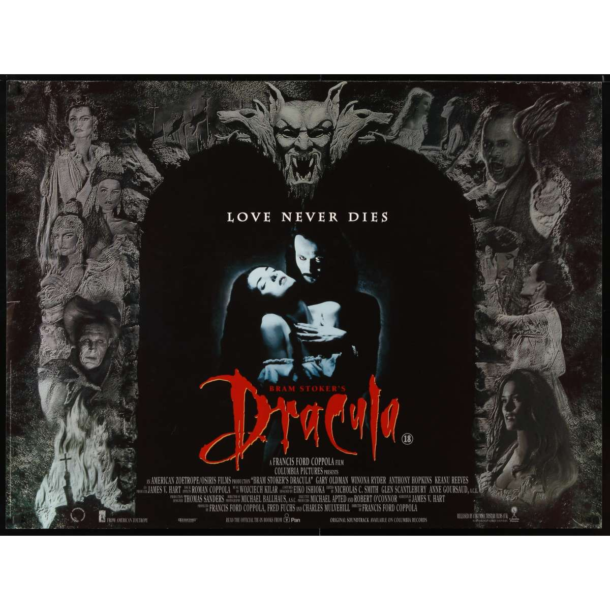 bram stoker 39 s dracula movie poster francis ford coppola. Cars Review. Best American Auto & Cars Review