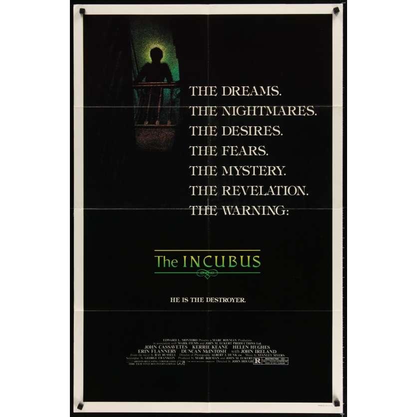 INCUBUS Movie Poster - John Cassavetes
