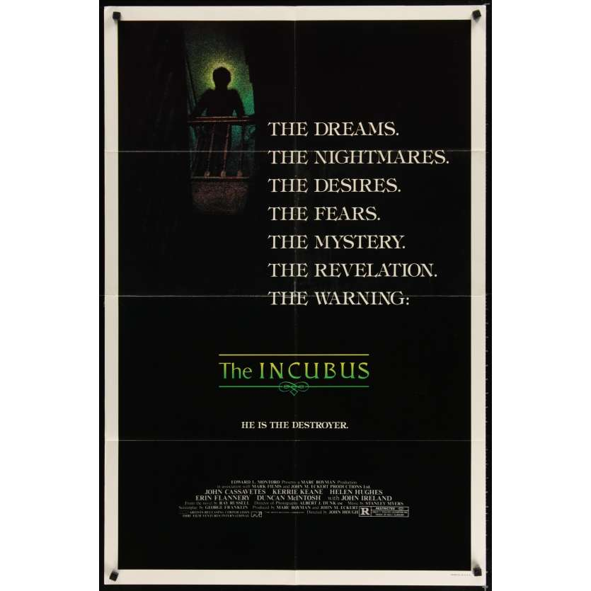 INCUBUS Movie Poster - John Cassavetes