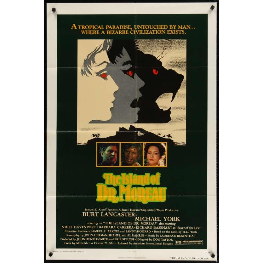 ISLAND OF DR MOREAU Movie Poster