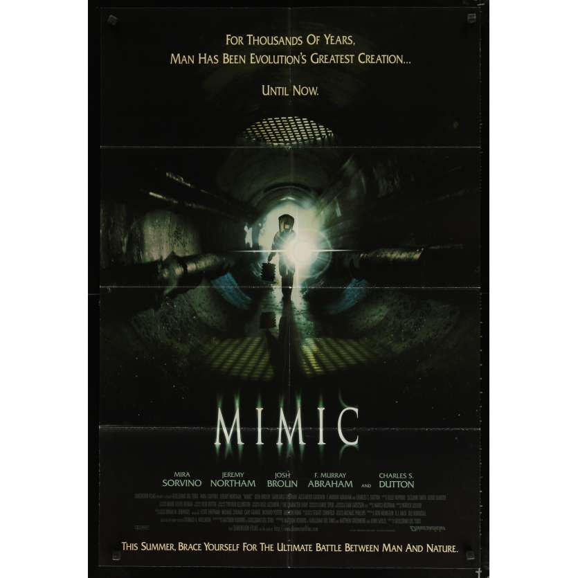 MIMIC Movie Poster - Guillermo del Toro