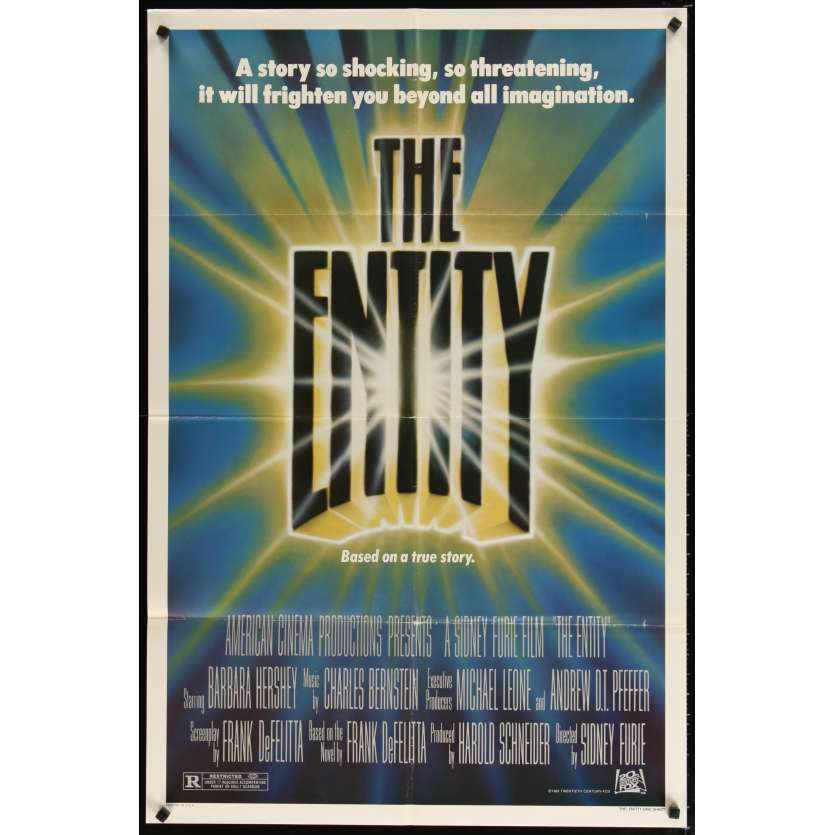 THE ENTITY Movie Poster - Barbara Hershey