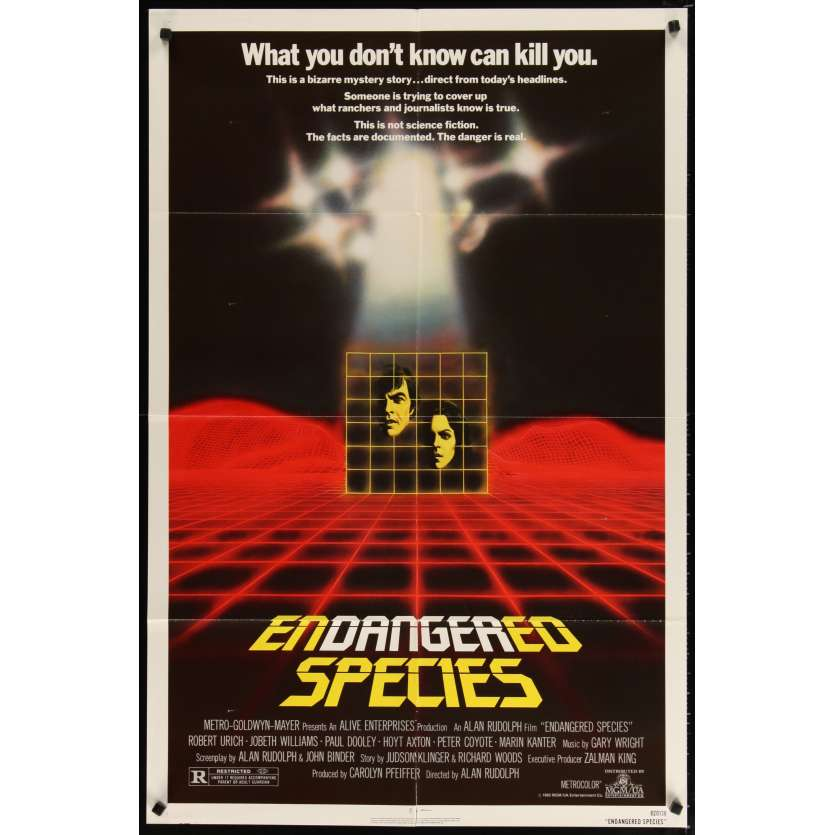 ENDANGERED SPECIES Movie Poster