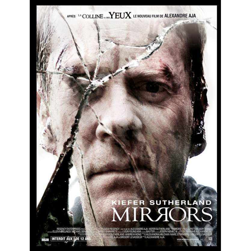 MIRRORS Movie Poster - Kieffer Sutherland