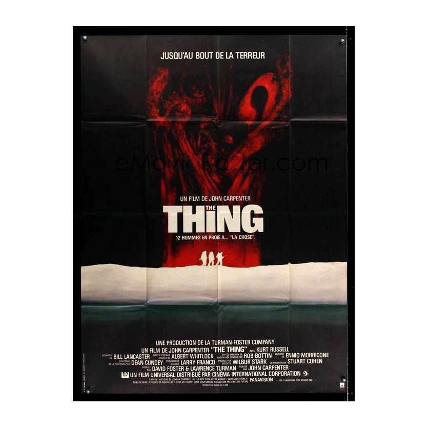 THE THING Affiche du film - 120x160 cm