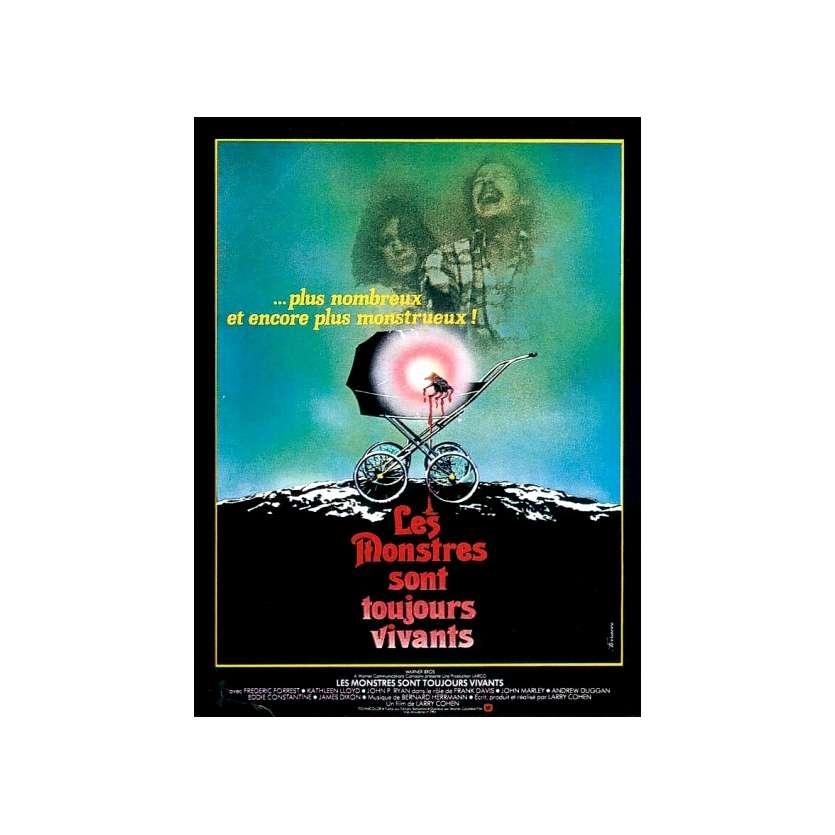 LES MONSTRES SONT TOUJOURS VIVANTS Affiche du film - 40x60
