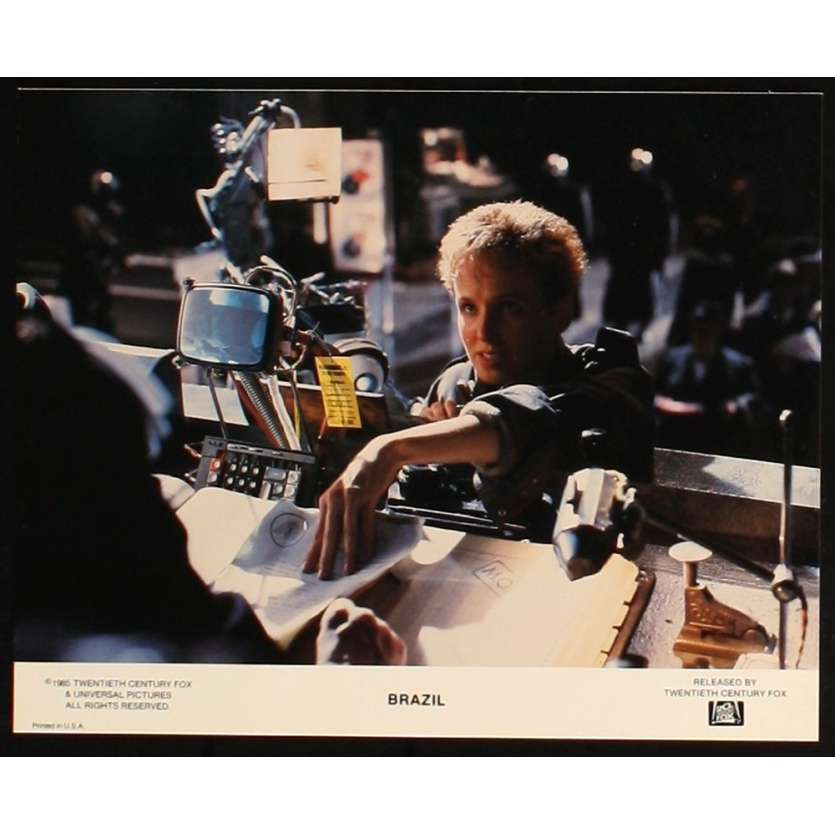 BRAZIL Lobby Card '85 Terry Gilliam Original 8x10 photo