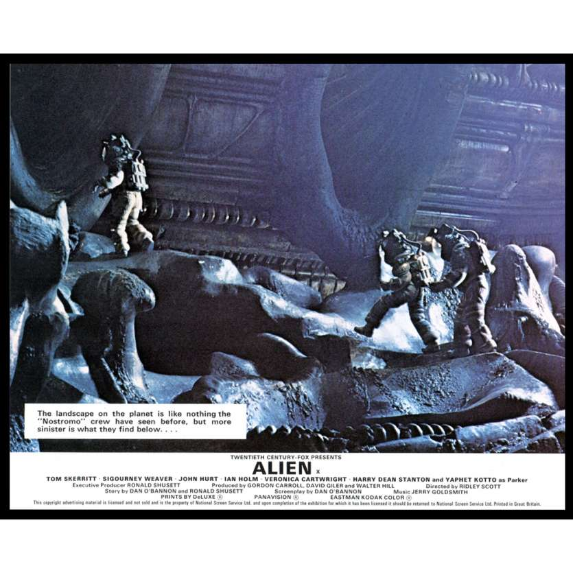 ALIEN 8x10 Lobby Card UK '79 Ridley Scott FOH N7
