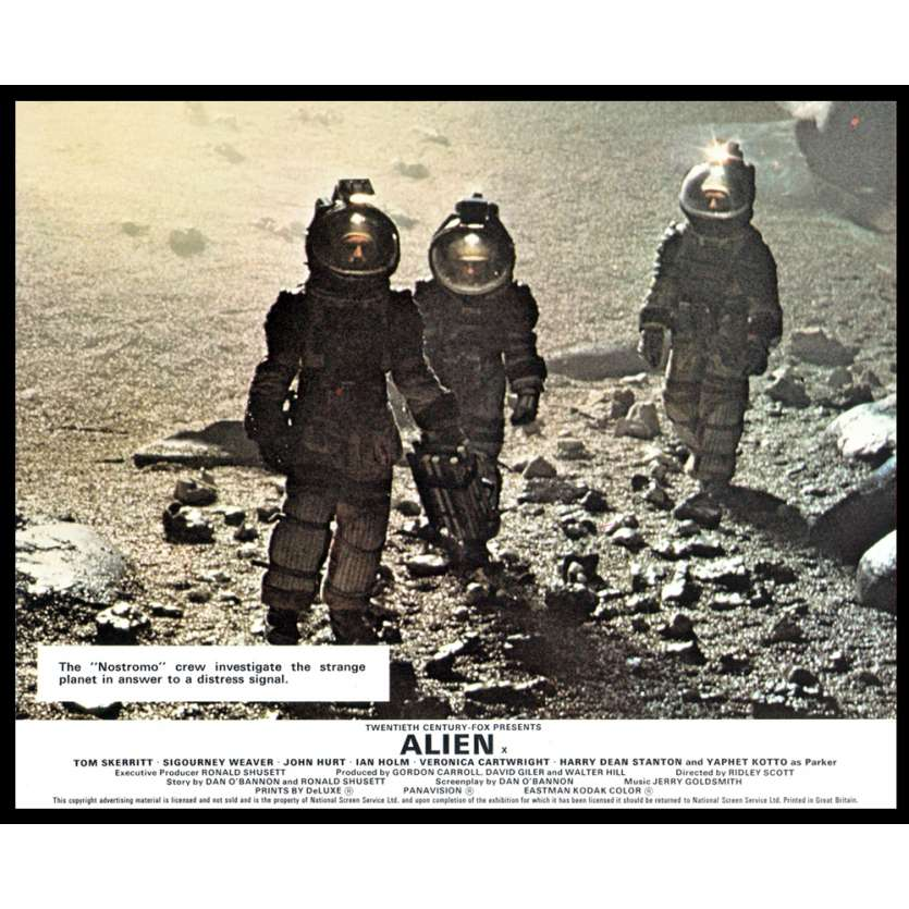 ALIEN 8x10 Lobby Card UK '79 Ridley Scott FOH N6