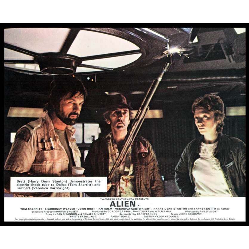 ALIEN 8x10 Lobby Card UK '79 Ridley Scott FOH N2