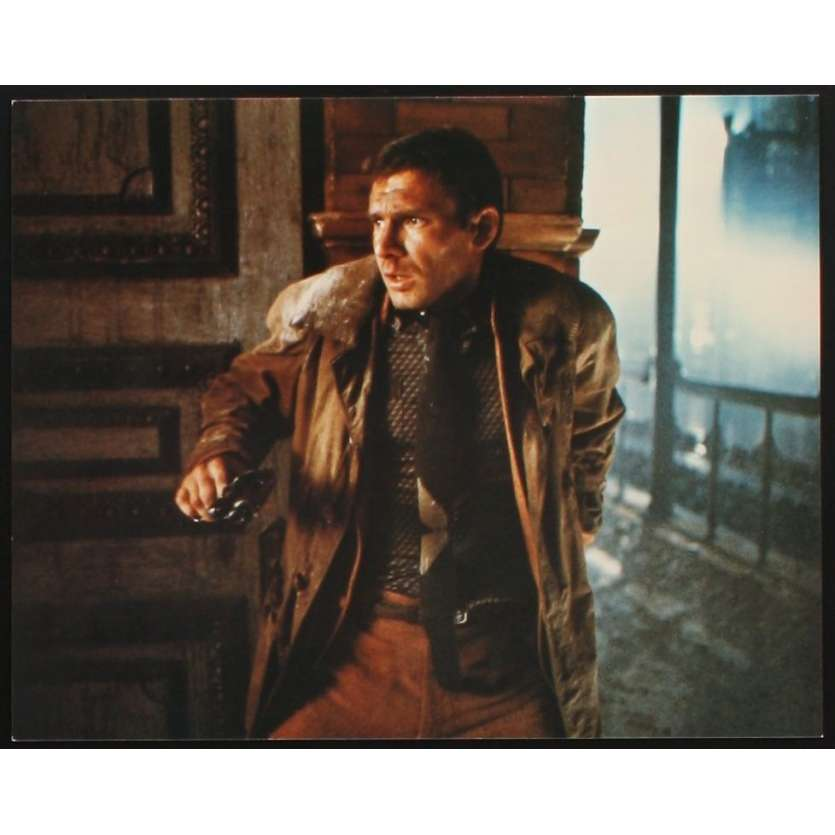 BLADE RUNNER color 8x10 still N7 '82 Sean Young + Harrison Ford with Daryl Hannah!
