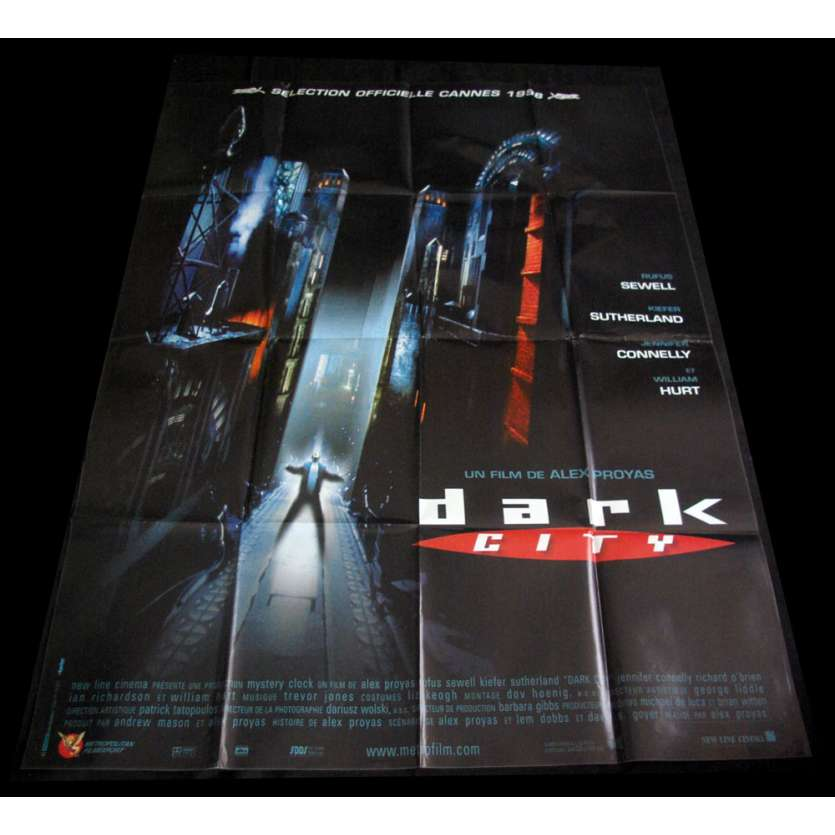 DARK CITY affiche de film 120x160 FR '98 Alex Proyas