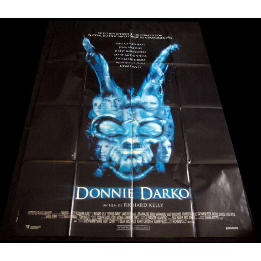 DONNIE DARKO French Movie Poster 47x63 '01 Jake Gyllenhall, Swayze