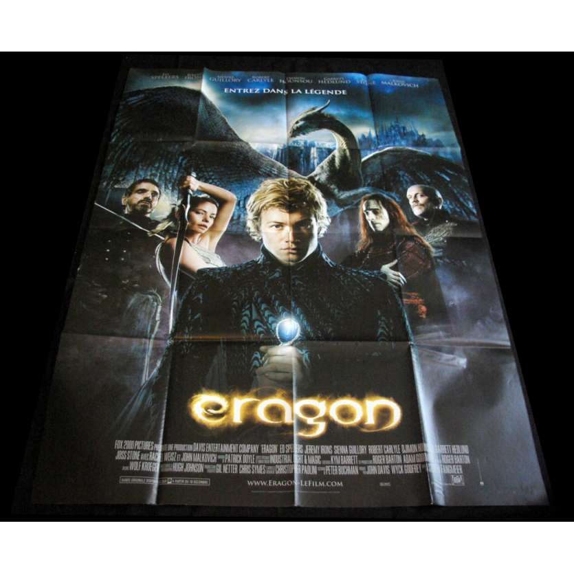 ERAGON French Movie Poster 47x63 '06 style B