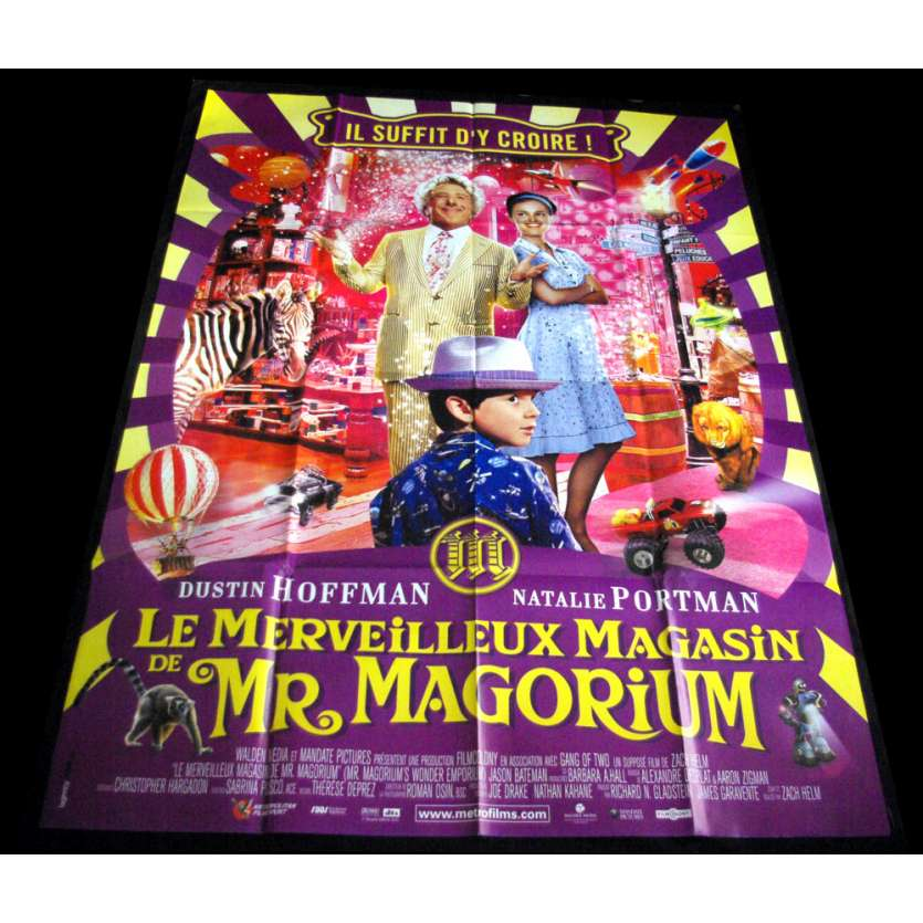MR. MAGORIUM WONDER EMPORIUM French Movie Poster 47x63 'XX Nathalie Portman