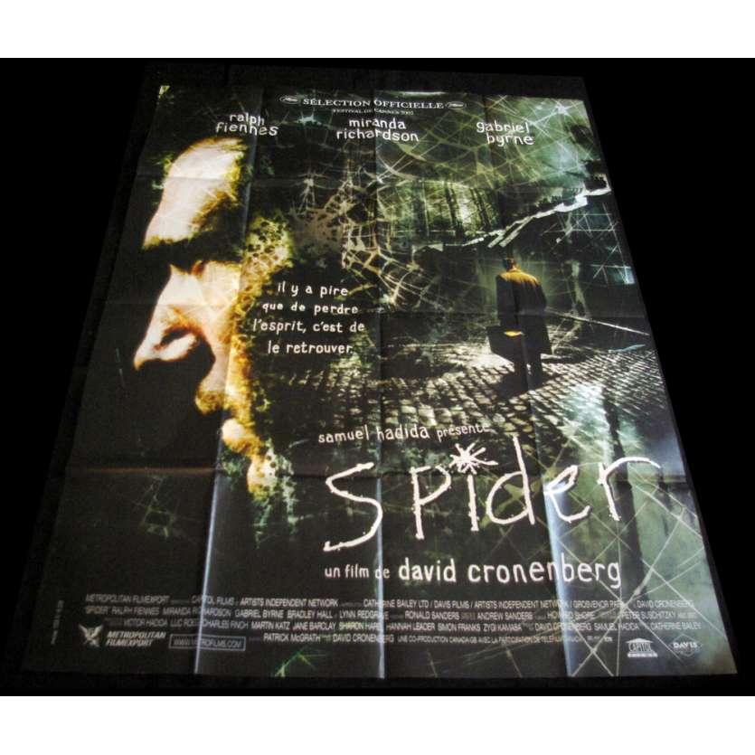 SPIDER affiche de film 120x160 FR '02 David Cronenberg