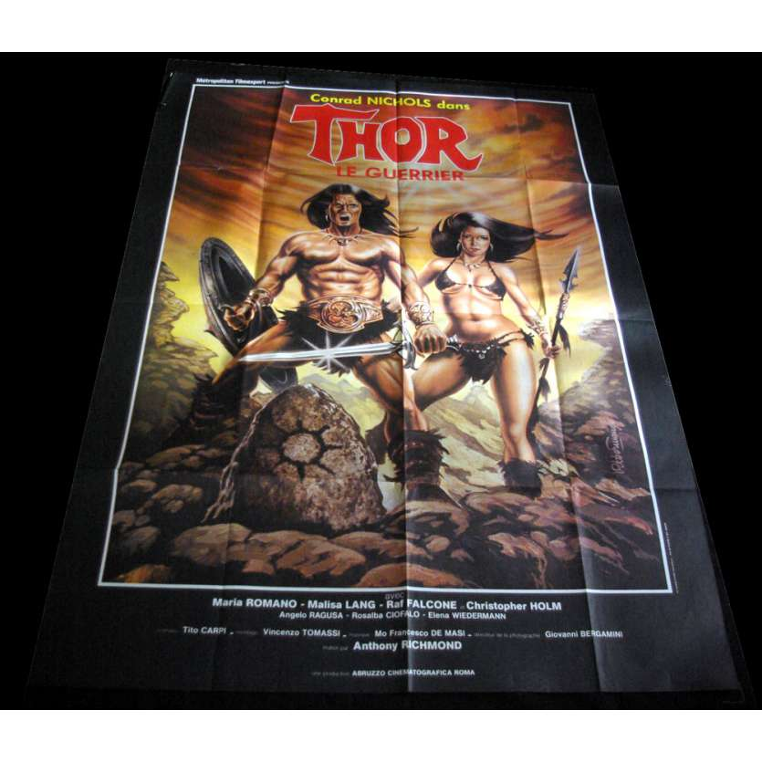 THOR French Movie Poster 47x63 'XX