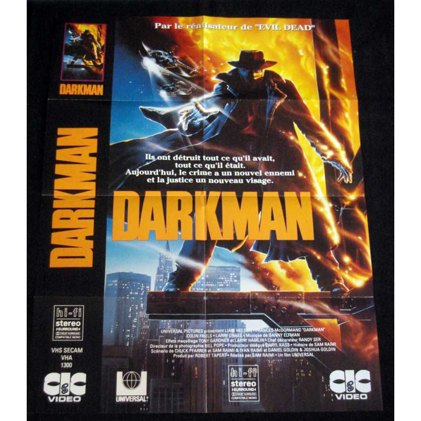 DARKMAN French Movie Poster '90 60x80cm