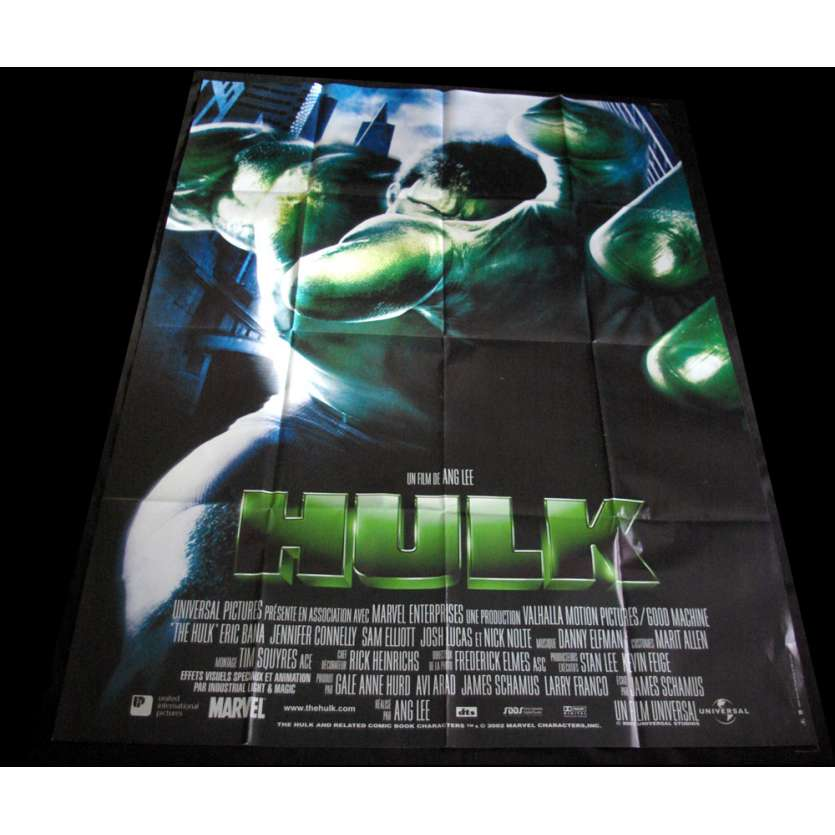 HULK French Movie Poster 47x63 '03 Ang Lee