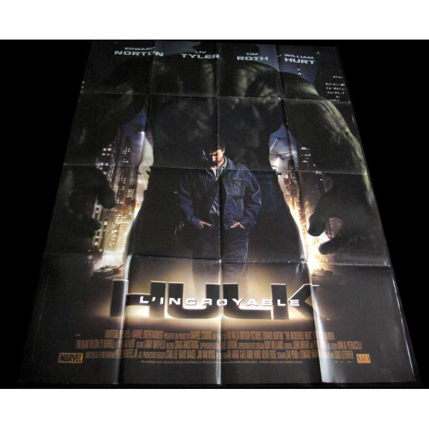 INCREDIBLE HULK French Movie Poster 47x63 '08 Edward Norton