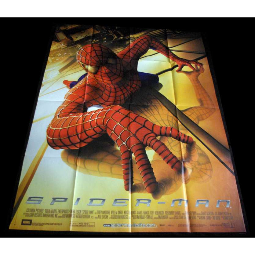 SPIDERMAN French Movie Poster 47x63 '02 Sam Raimi