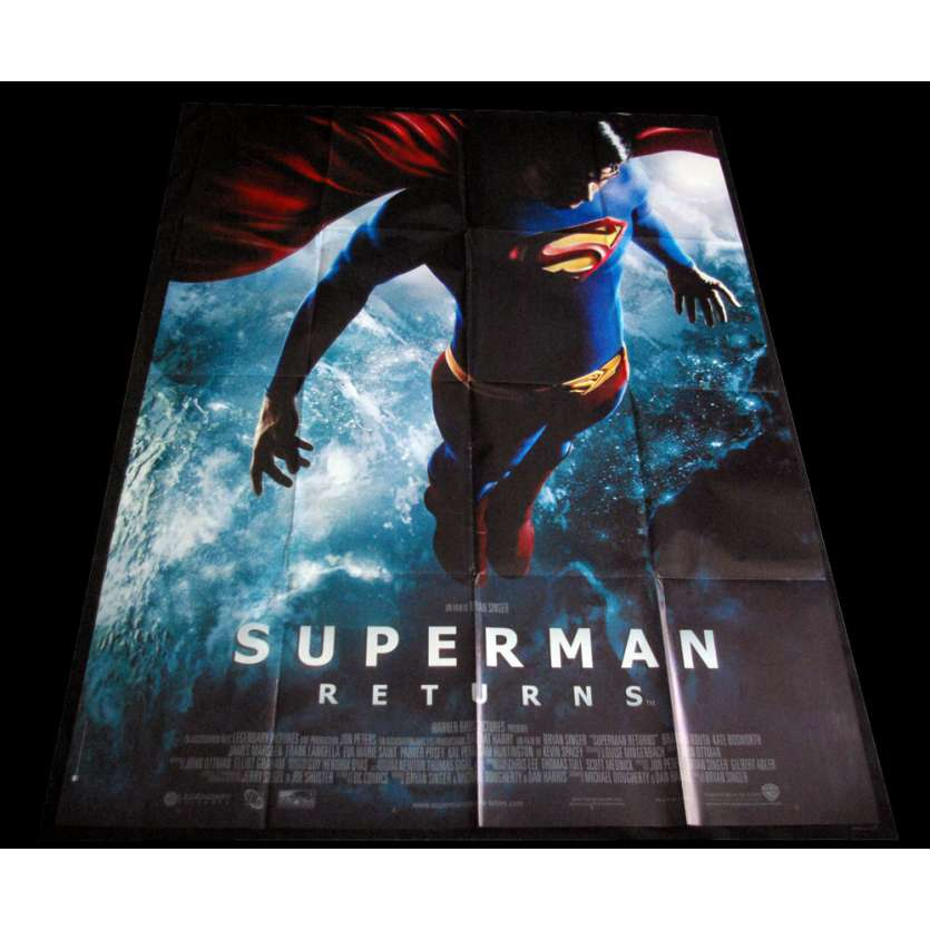 SUPERMAN RETURNS French Movie Poster 47x63 '06