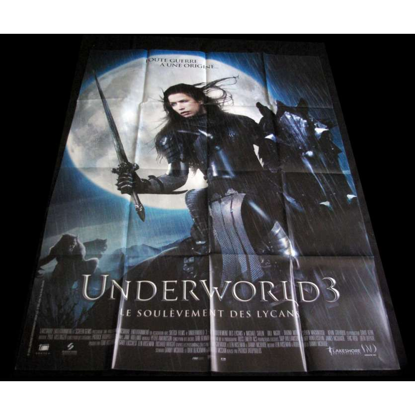 UNDERWORLD 3 French Movie Poster '09 47x63