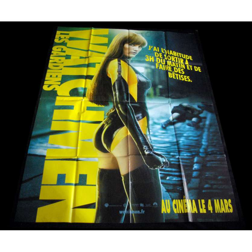 WATCHMEN French Movie Poster 47x63 '09 Marvel