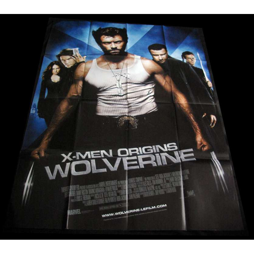 WOLVERINE French Movie Poster 47x63 '09 Xmen Origins