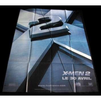 XMEN 2 French Movie Poster 47x63 FR '03 Hugh Jackman