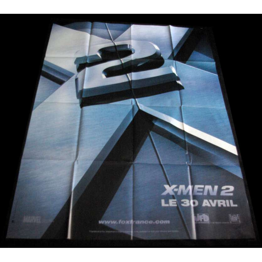XMEN 2 Affiche de film 120x160 FR '03 Hugh Jackman