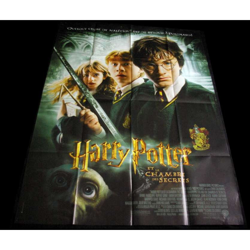 HARRY POTTER 2 French Movie Poster 47x63 '02