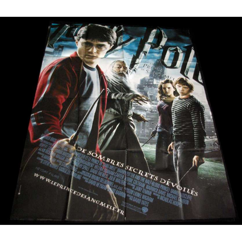 HARRY POTTER 6 French Movie Poster 47x63 '09 Daniem Radcliffe, Emma Watson