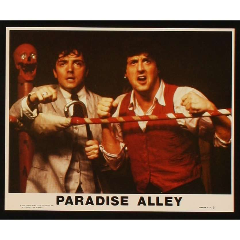 PARADISE ALLEY 8x10 mini LC N1 '78 Sylvester Stallone