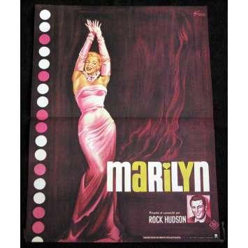 MARYLIN Affiche de film 40x60 'R70 Marylin Monroe, Rock Hudson