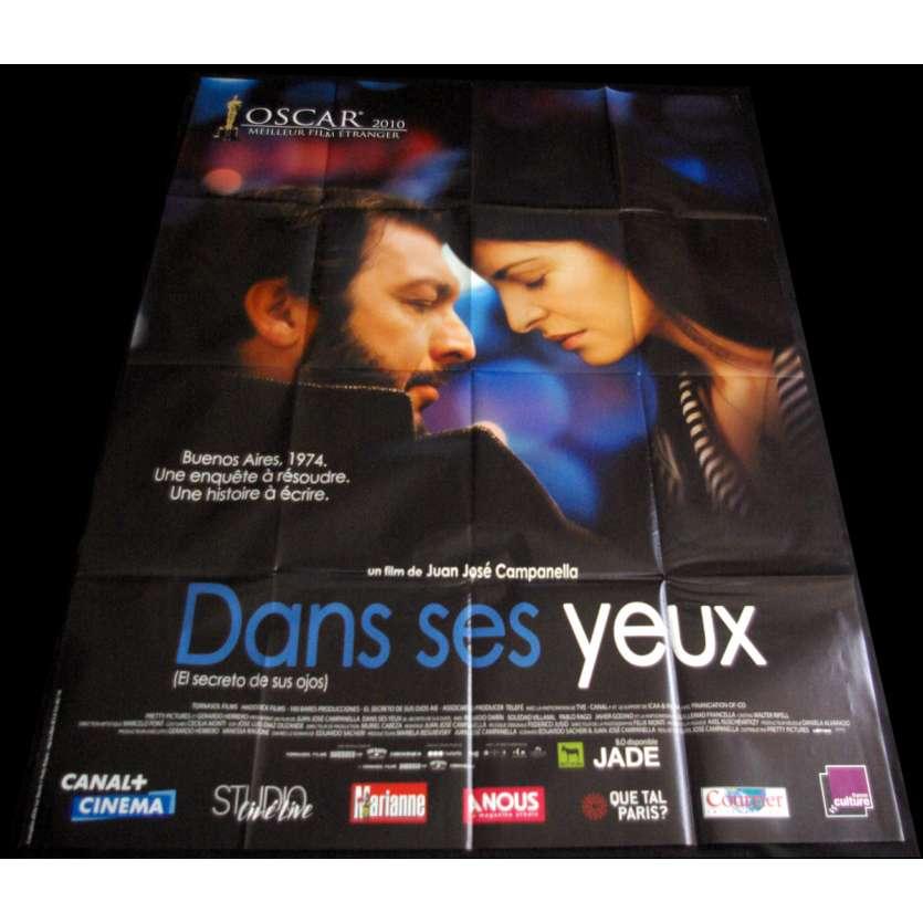 DANS SES YEUX Affiche de film 120x160 '09 el secreto de sus ojos