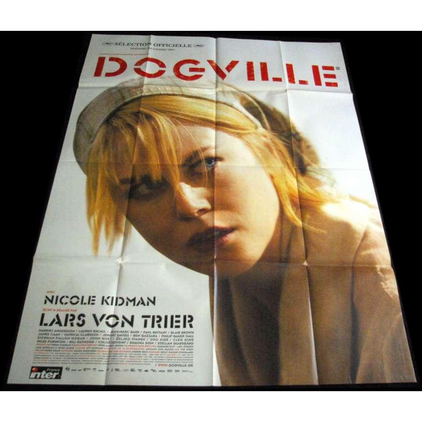 DOGVILLE Affiche de film 120x160 '03 Lars Von Trier, Nicole Kidman