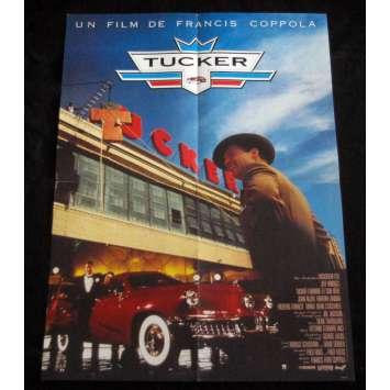 TUCKER Affiche de film 60x80 '88 Jeff Bridges, Francis Ford Coppola